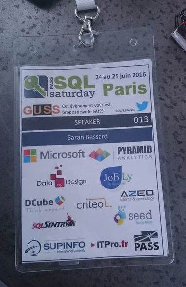 Expert SQL Server - Keyser Söze au SQLSaturday - SQL Server  - badge_sqlsat2016