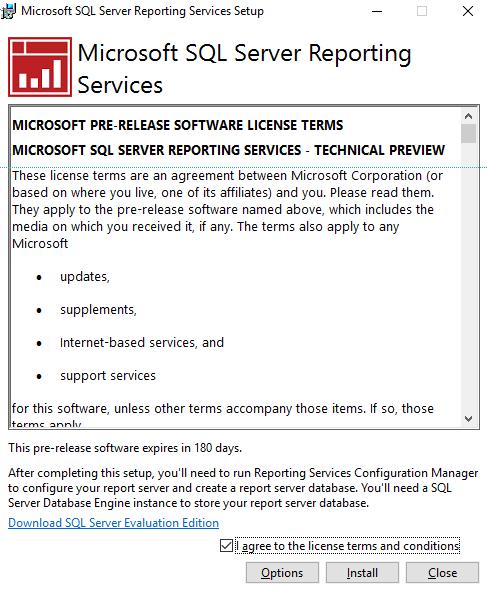 Expert SQL Server - Publier un rapport Power BI On-Premise, oui mais... - BI & Big Data  - pbi_ssrs_install_01-1