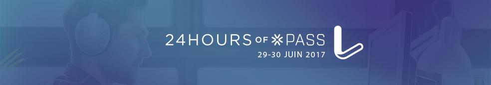 Expert SQL Server - 24 heures Hop francophone : 29 et 30 juin 2017 - SQL Server  - 24HOP-Website-Banner-French