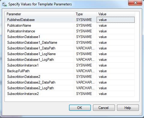 Expert SQL Server - Réplication - Initialisation d'un abonné par sauvegarde/restauration - SQL Server  - param