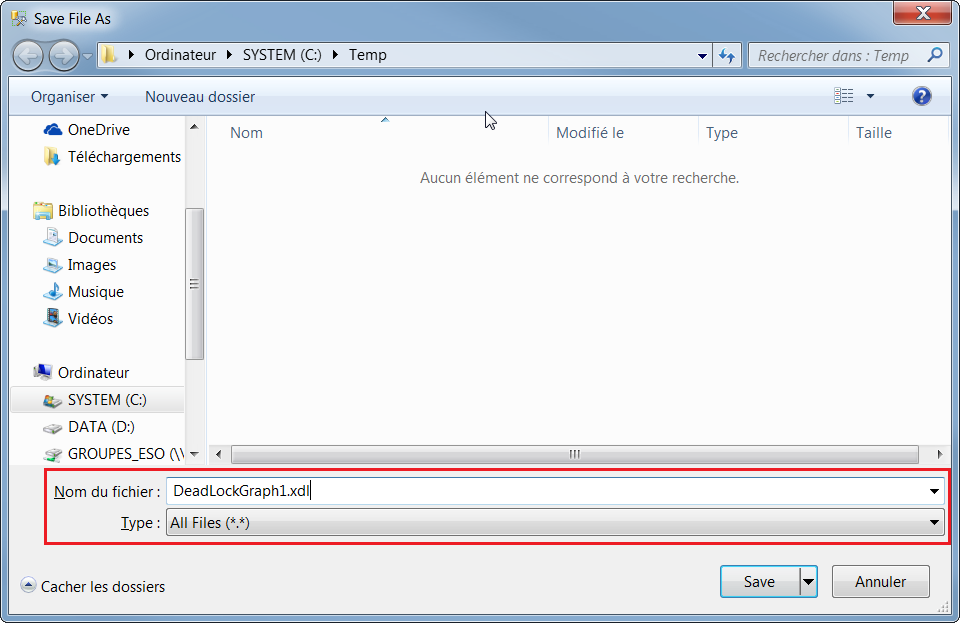 Expert SQL Server - XEvent : Deadlock - SQL Server  - deadlock_save_xdl