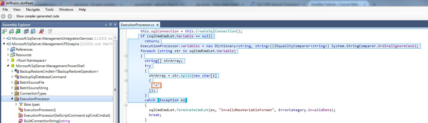 Expert SQL Server - Quelques trucs à savoir sur Invoke-Sqlcmd - Powershell SQL Server  - Microsoft.SqlServer.Management.PSSnapins.dll_