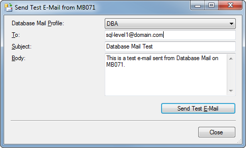 Expert SQL Server - Configurer Database Mail avec Gmail - SQL Server  - Send-Mail