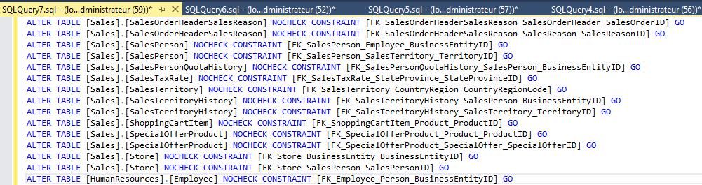 Expert SQL Server - Retain CR/LF : Retours chariot et sauts de ligne dans SQL Management Studio 2016 - SQL Server  - char_ignored